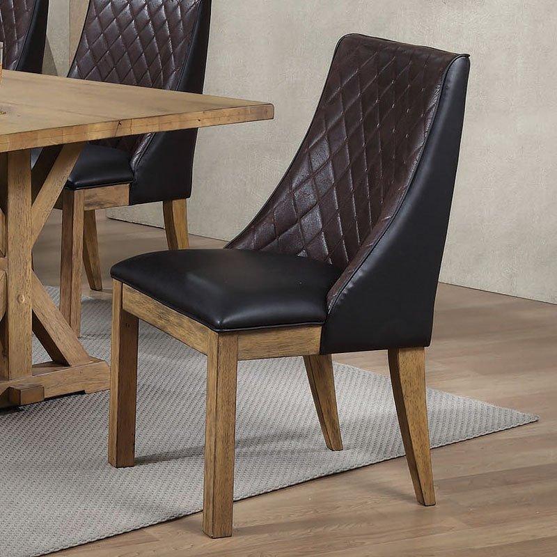 Douglas Furniture: Douglas Dark Brown Side Chair (Set Of 2) By Coaster