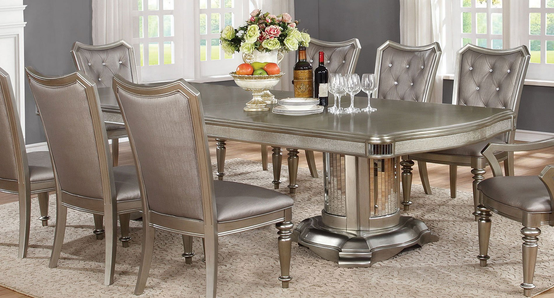 Bling Game Rectangular Dining Table Dining Tables