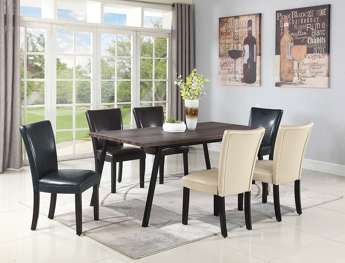 Jefferson dining room set w chair choices by coaster furniture furniturepick