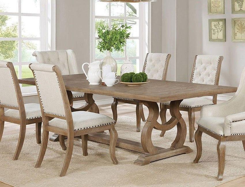 Beau Glen Cove Dining Table (Barley Brown)