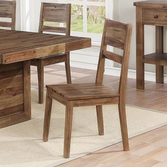 Tucson Side Chair Set Of 2 By Coaster Furniture