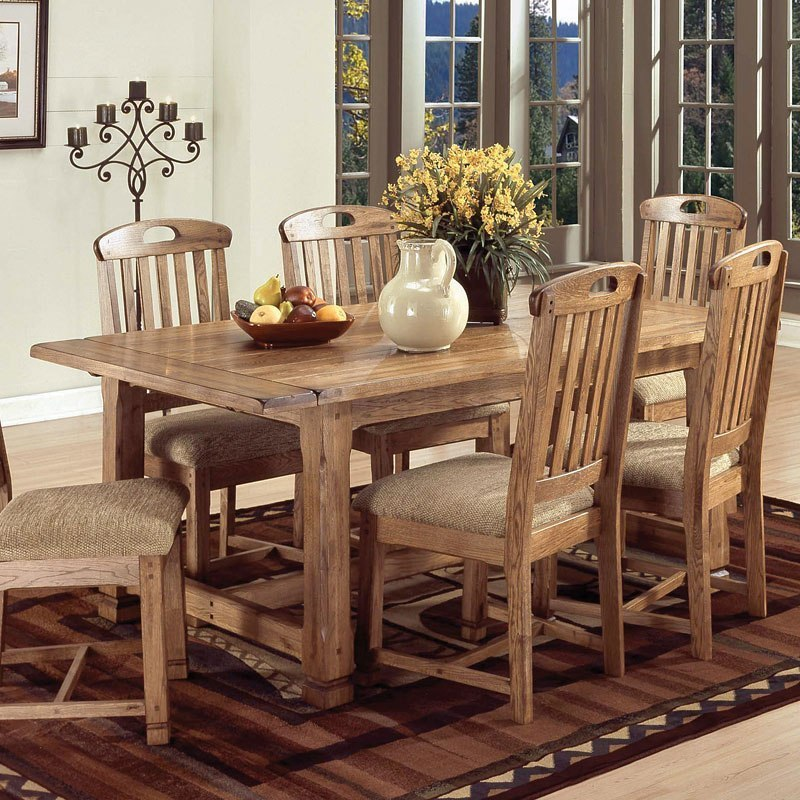Sedona Rectangular Extension Dining Table By Sunny Designs