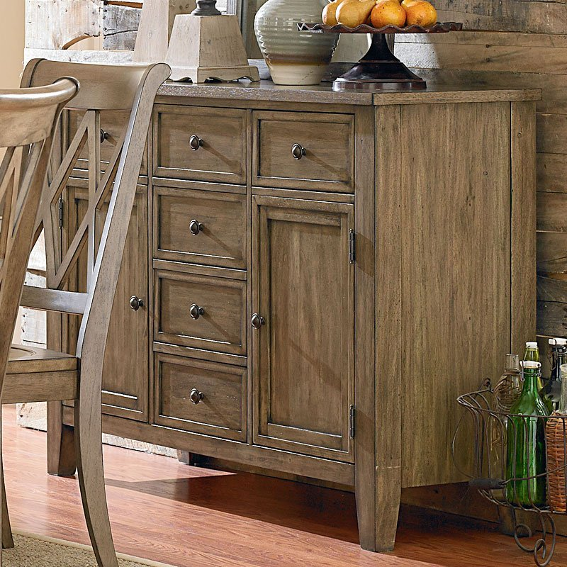 Bon Vintage Sideboard (Weathered Grey)
