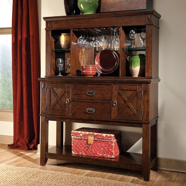 Oak Dining Room Sets With Hutch: Sonoma Dining Room Set Standard Furniture