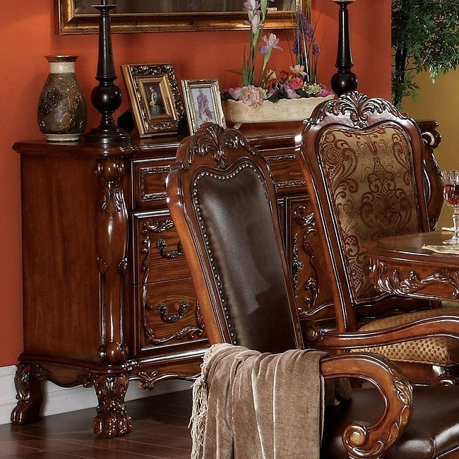 Toulouse Formal Dining Room Set Acme Furniture: Dresden Formal Dining Room Set By Acme Furniture, 1 Review