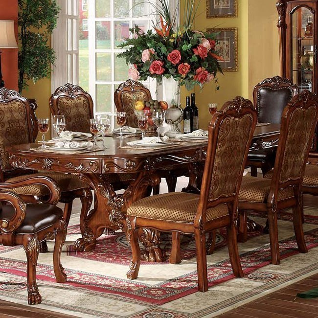Formal Dining Furniture: Dresden Formal Dining Room Set By Acme Furniture, 1 Review