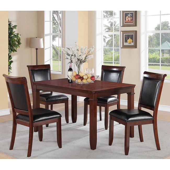 Dining Room Sets Dallas Tx: Dallas 5-Piece Dining Room Set By Standard Furniture