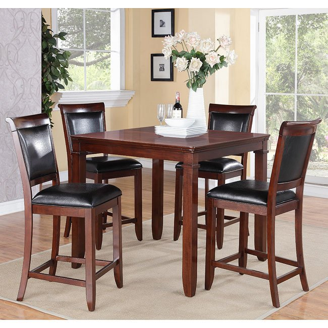 Dining Room Sets Dallas Tx: Dallas Counter Height 5-Piece Dinette By Standard