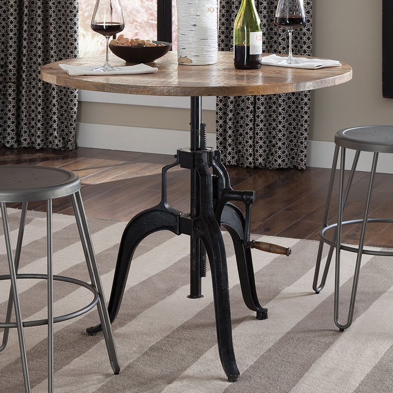 Galway adjustable height dining table dining tables for Kitchen furniture galway
