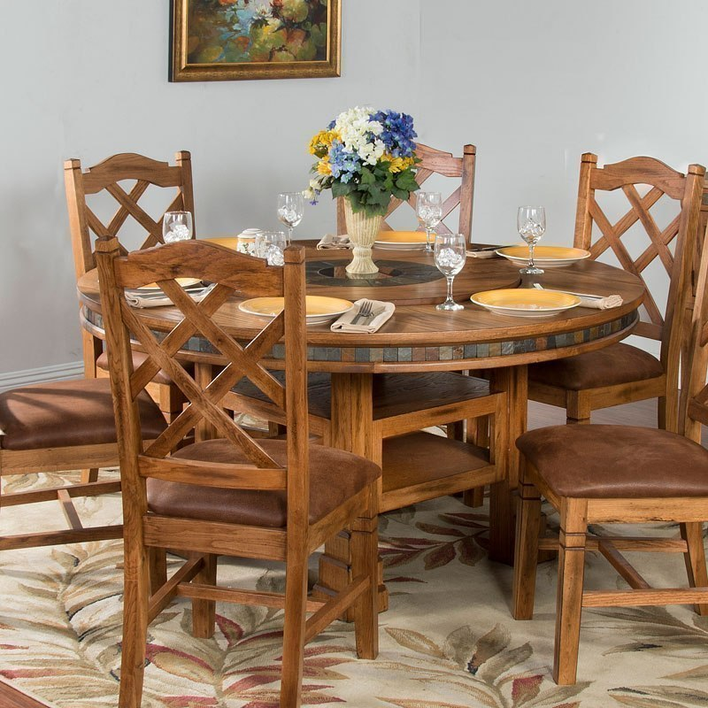Adjustable Height Round Table.Sedona Adjustable Height Round Dining Table