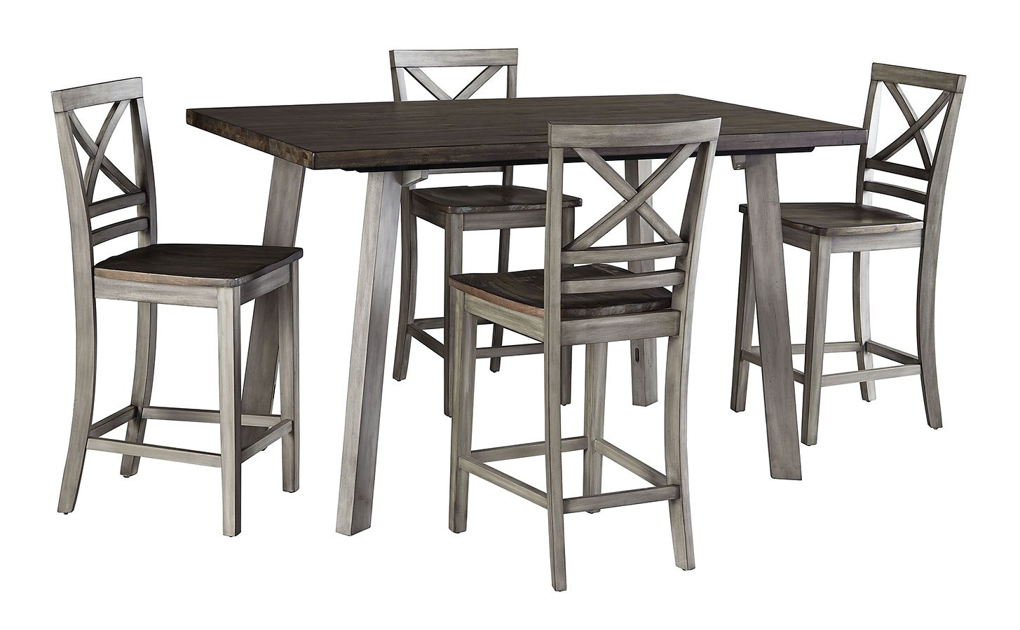 Fairhaven 5-Piece Counter Height Dining Set By Standard Furniture