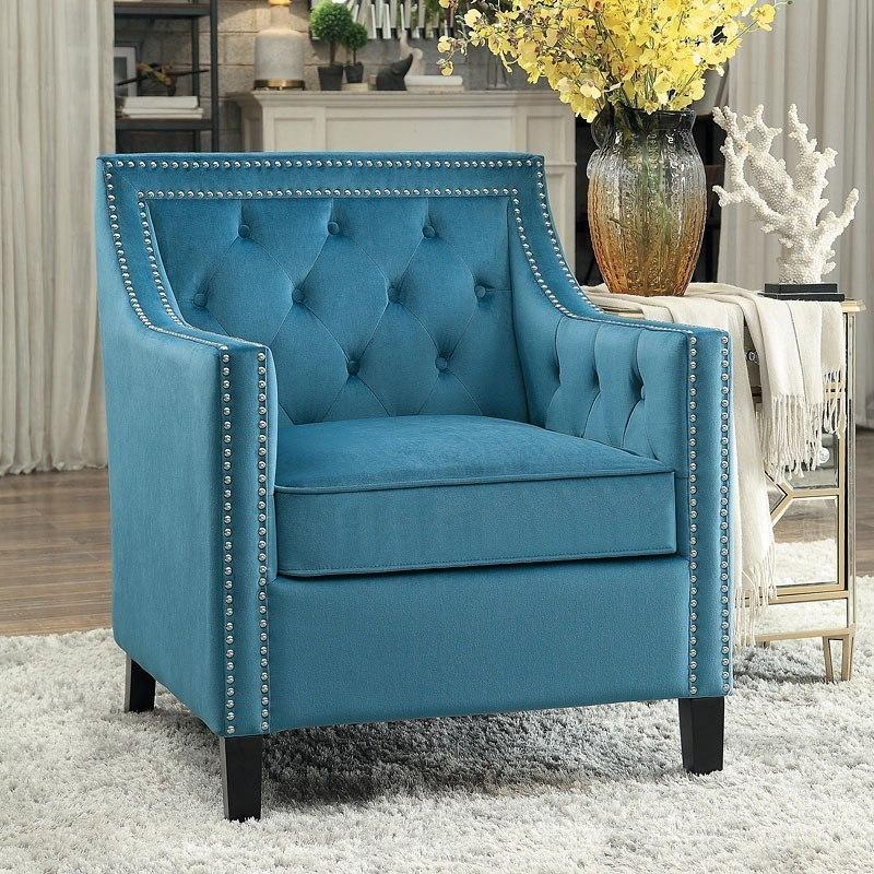 Grazioso Accent Chair (Blue)