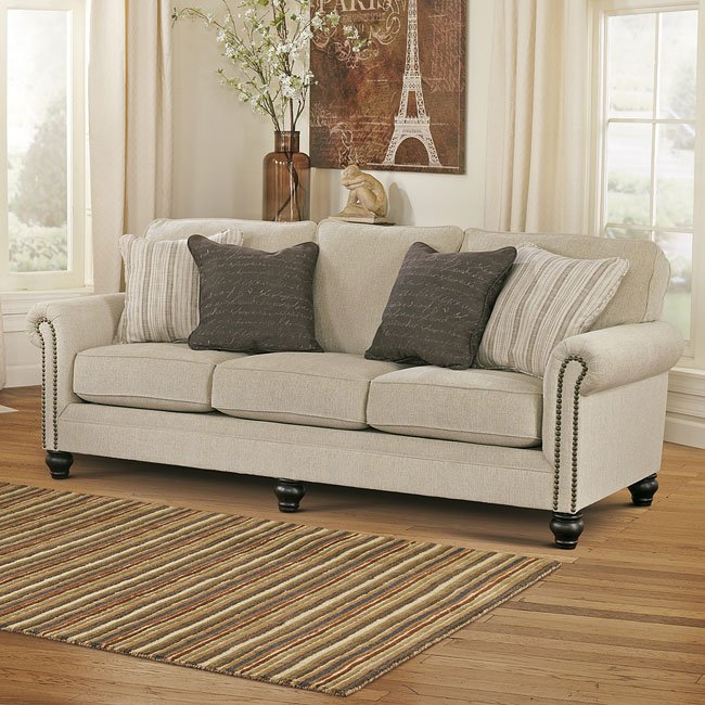 Milari Linen Queen Sofa Sleeper By Signature Design By