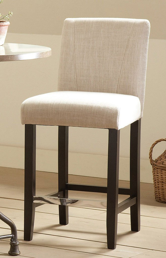 Commercial Grade Counter Height Stool Ivory Set Of 2