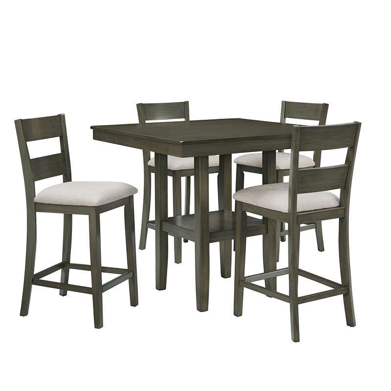 Standard Furniture Brooklyn 5 Piece Counter Height Dining: Loft 5-Piece Counter Height Dining Set By Standard