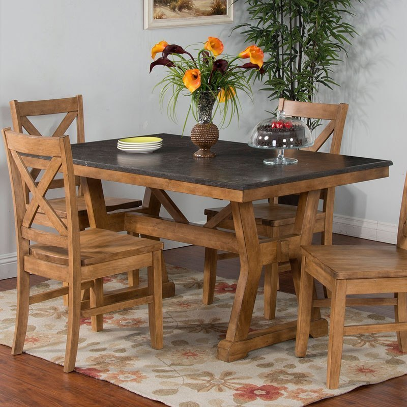 Blue Moon Dining Table (Desert Sand) By Sunny Designs