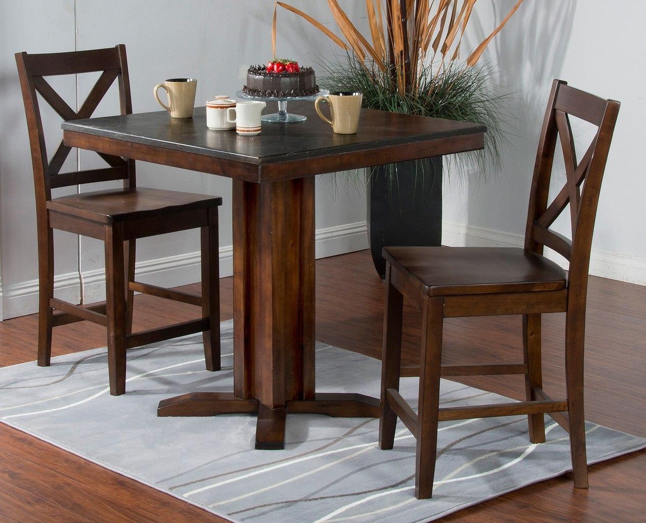 Blue Moon 36 Inch Pub Table Set By Sunny Designs Furniturepick