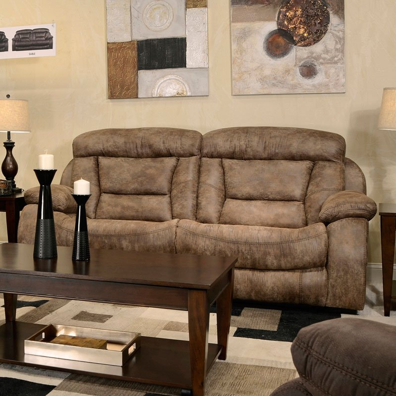 Desmond Lay Flat Reclining Living Room Set (Mushroom) By