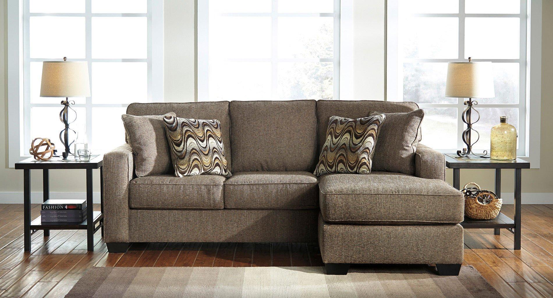 Tanacra Tweed Sofa Chaise Set By Benchcraft Furniturepick