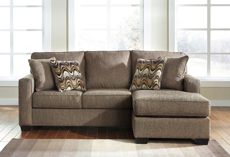 Tanacra Tweed Sofa Chaise By Benchcraft Furniturepick