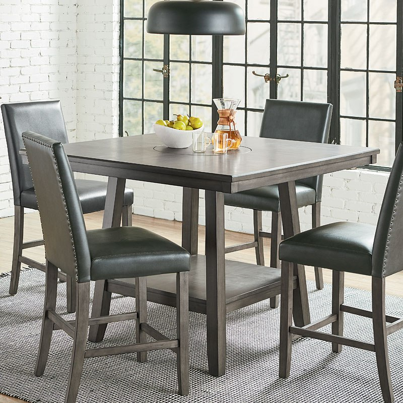 Counter Height Dining Set Lazy Susan