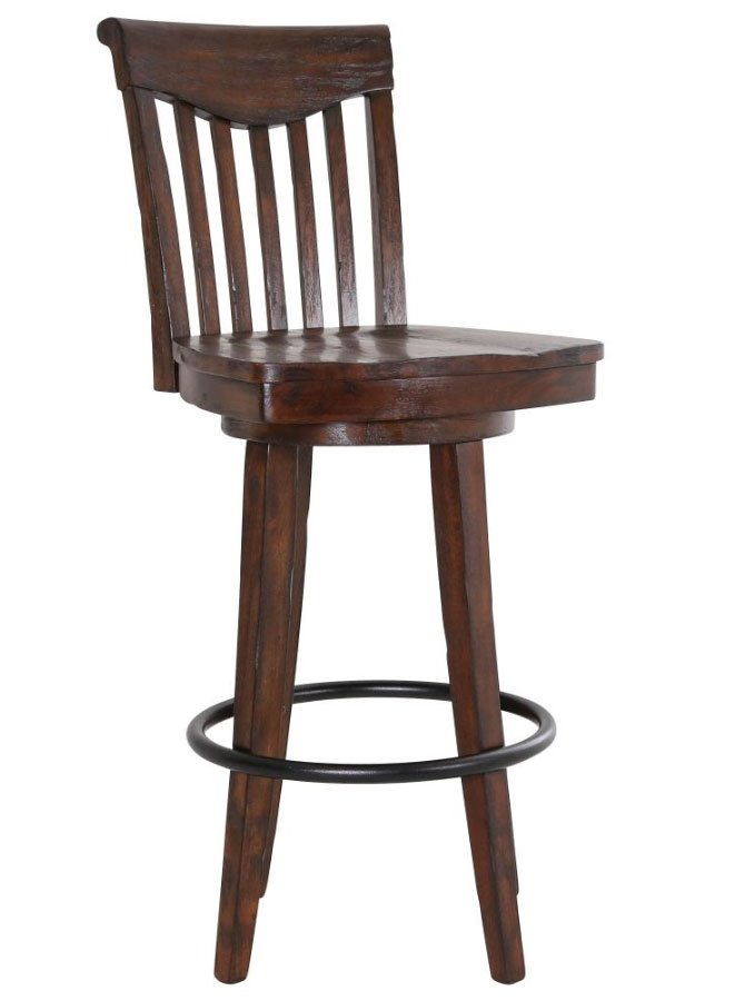 Gettysburg 30 Inch Swivel Barstool Set Of 2 By Eci Furniture