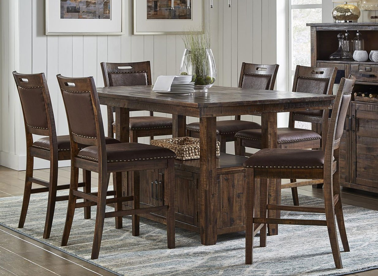 Cannon Valley Counter Height Dining Room Set