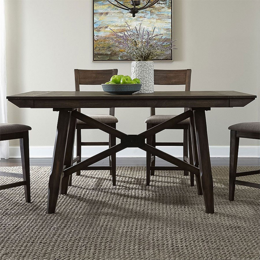 Counter Height Dining Tables: Double Brindge Counter Height Dining Table By Liberty