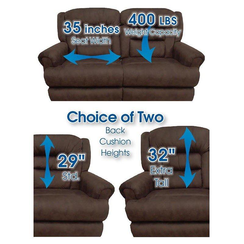 atlas reclining sofa extra tall living room furniture living rh furniturepick com