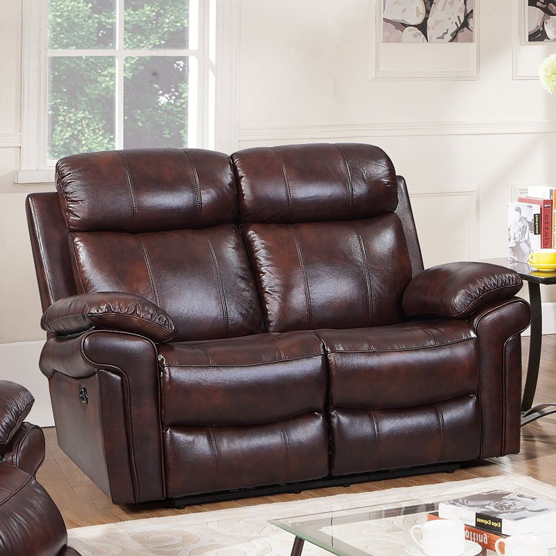 Joplin Power Reclining Loveseat Brown Reclining Loveseats Living Room Furniture Living Room