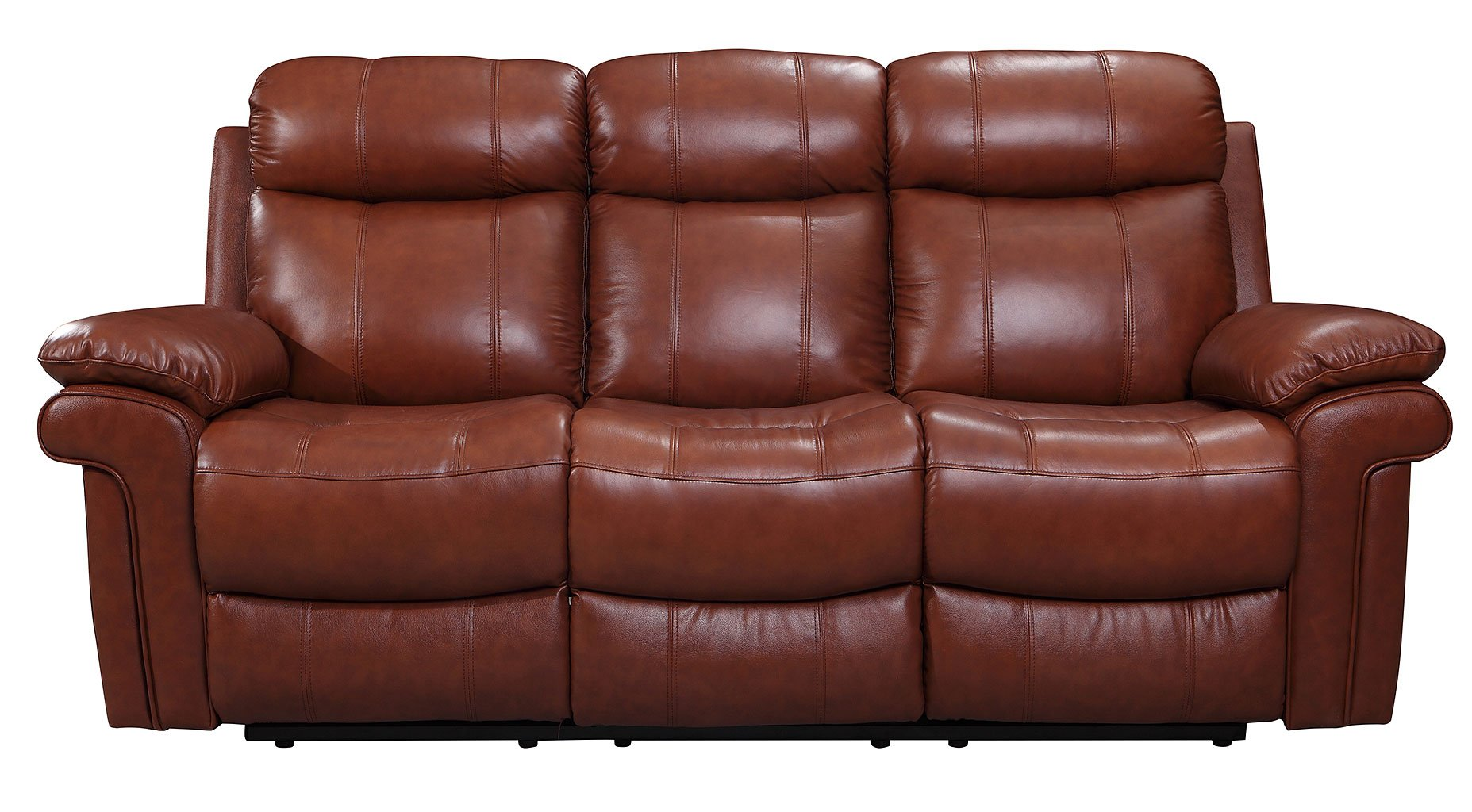 Joplin Power Reclining Sofa Saddle By Leather Italia