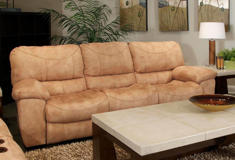 Cool Terrance Reclining Sofa Caramel Beatyapartments Chair Design Images Beatyapartmentscom