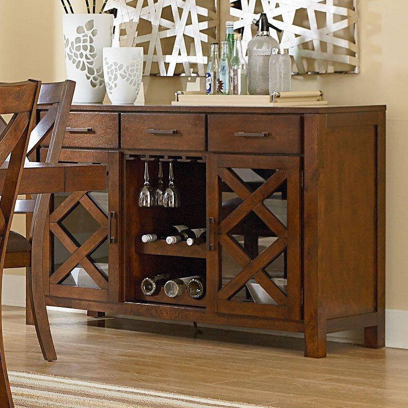 Outdoor Patio Furniture Omaha Ne: Omaha Sideboard (Brown) By Standard Furniture