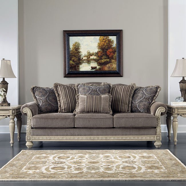 Parkington Bay Platinum Sofa Signature Design By Ashley Furniture