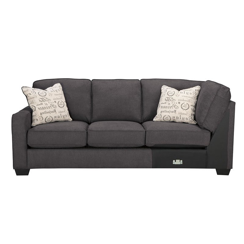 Alenya Charcoal Sectional Set By Signature Design By