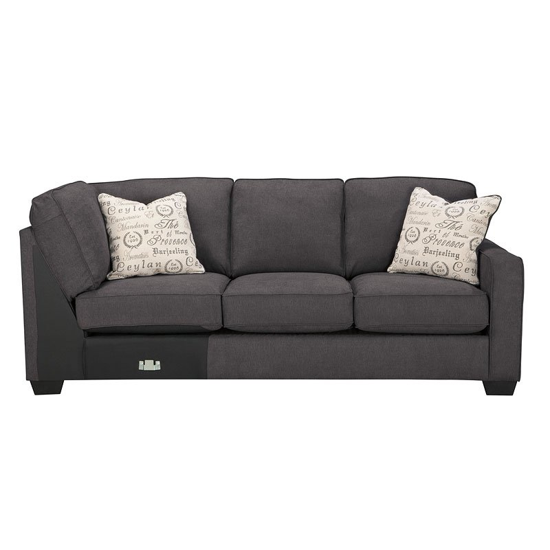 Alenya Charcoal Sectional Set Signature Design By Ashley