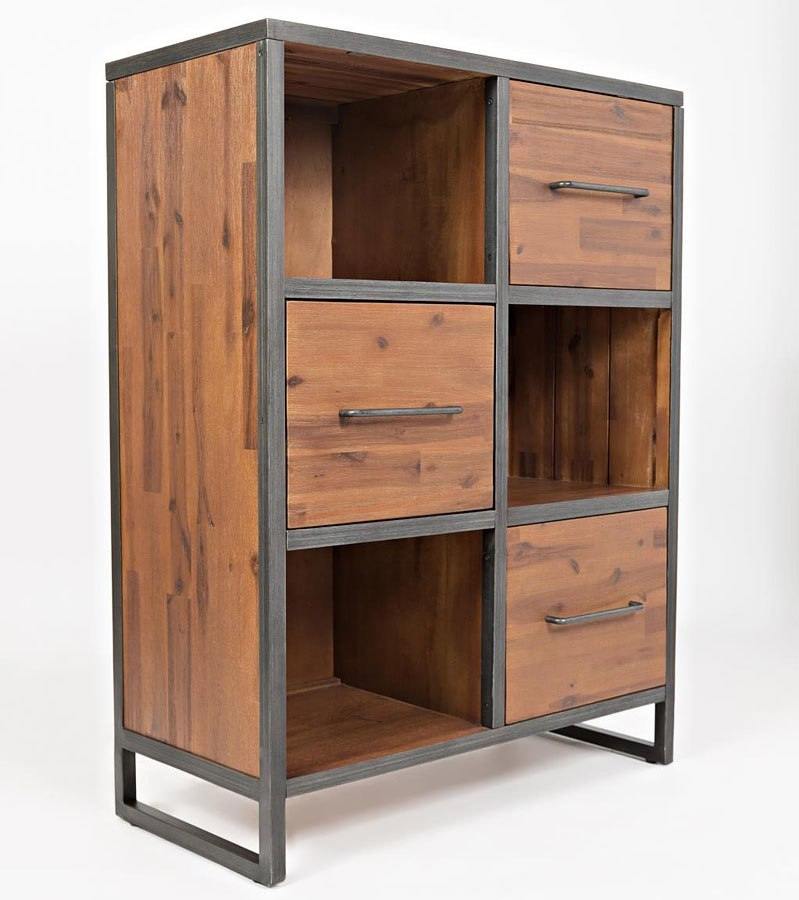 Studio 16 Small Bookcase by Jofran Furniture | FurniturePick
