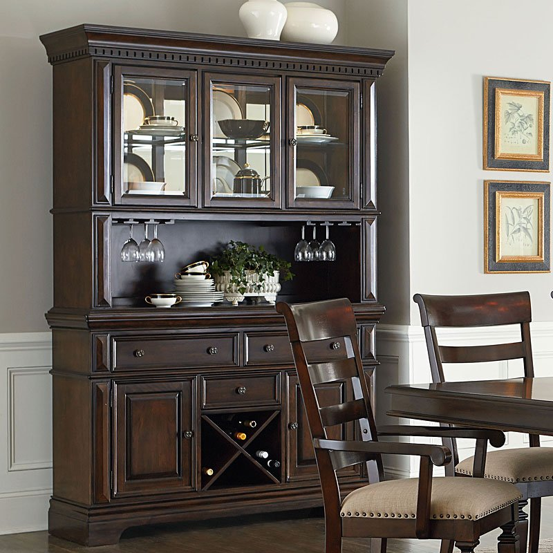 Dining Room Buffet Hutch: Charleston Buffet W/ Hutch By Standard Furniture