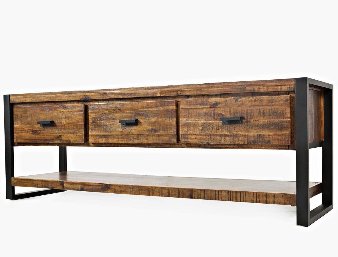 Loftworks 70 Inch Media Console By Jofran Furniture Furniturepick