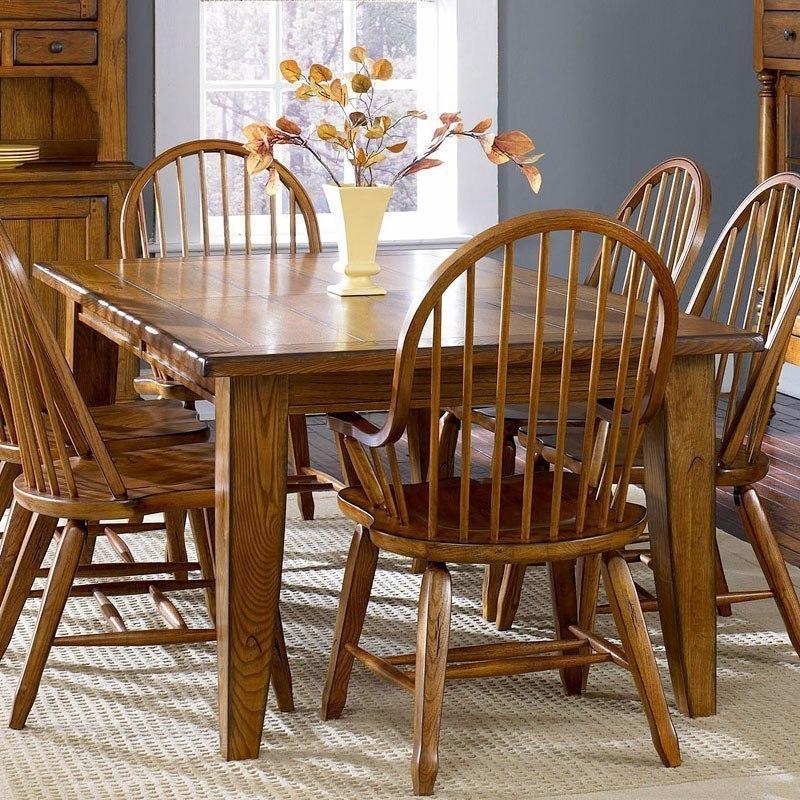 treasures dining tableliberty furniture  furniturepick