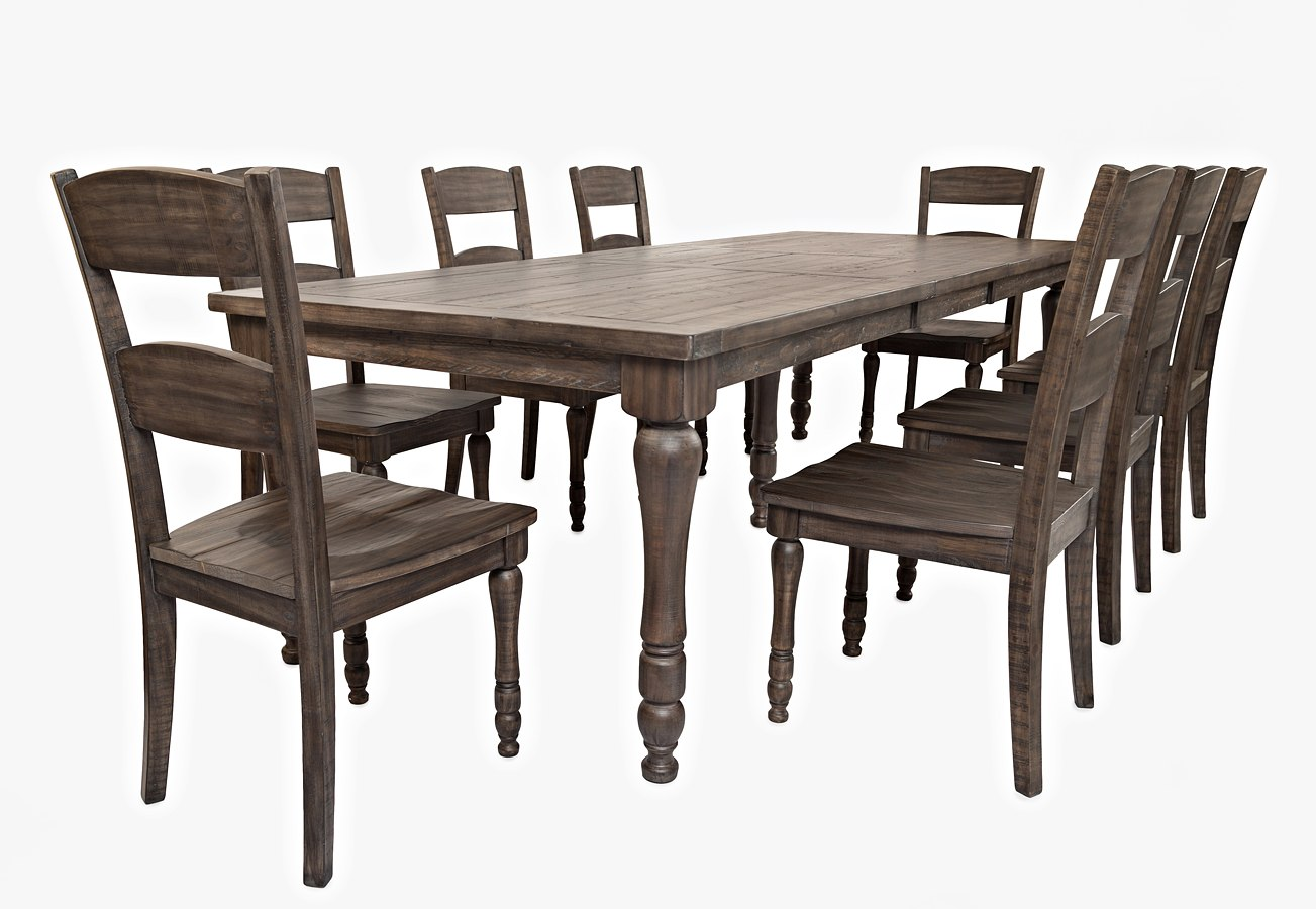 Madison County Rectangular Dining Room Set (Barnwood) By