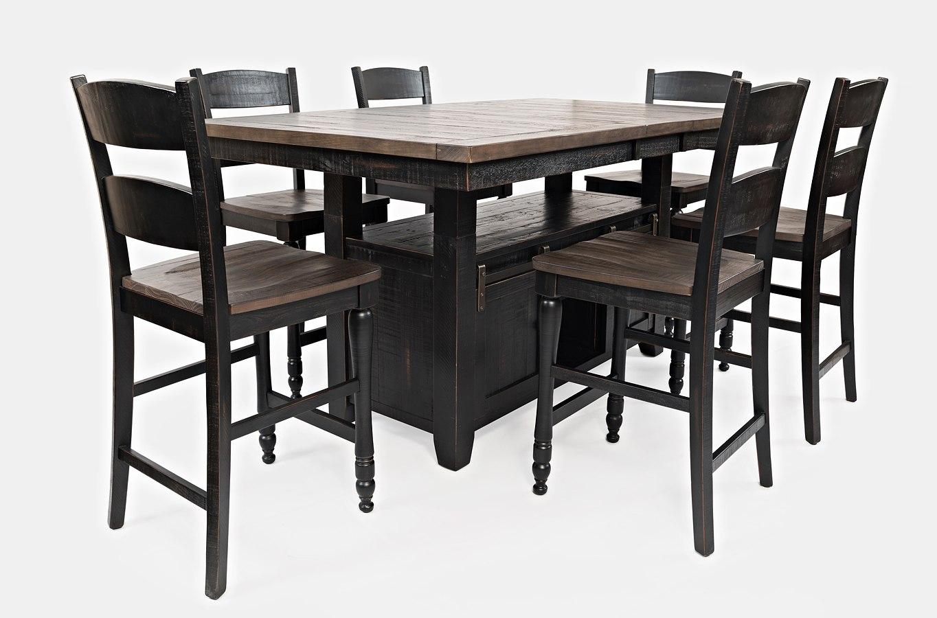 Madison County Adjustable Height Dining Room Set (Vintage