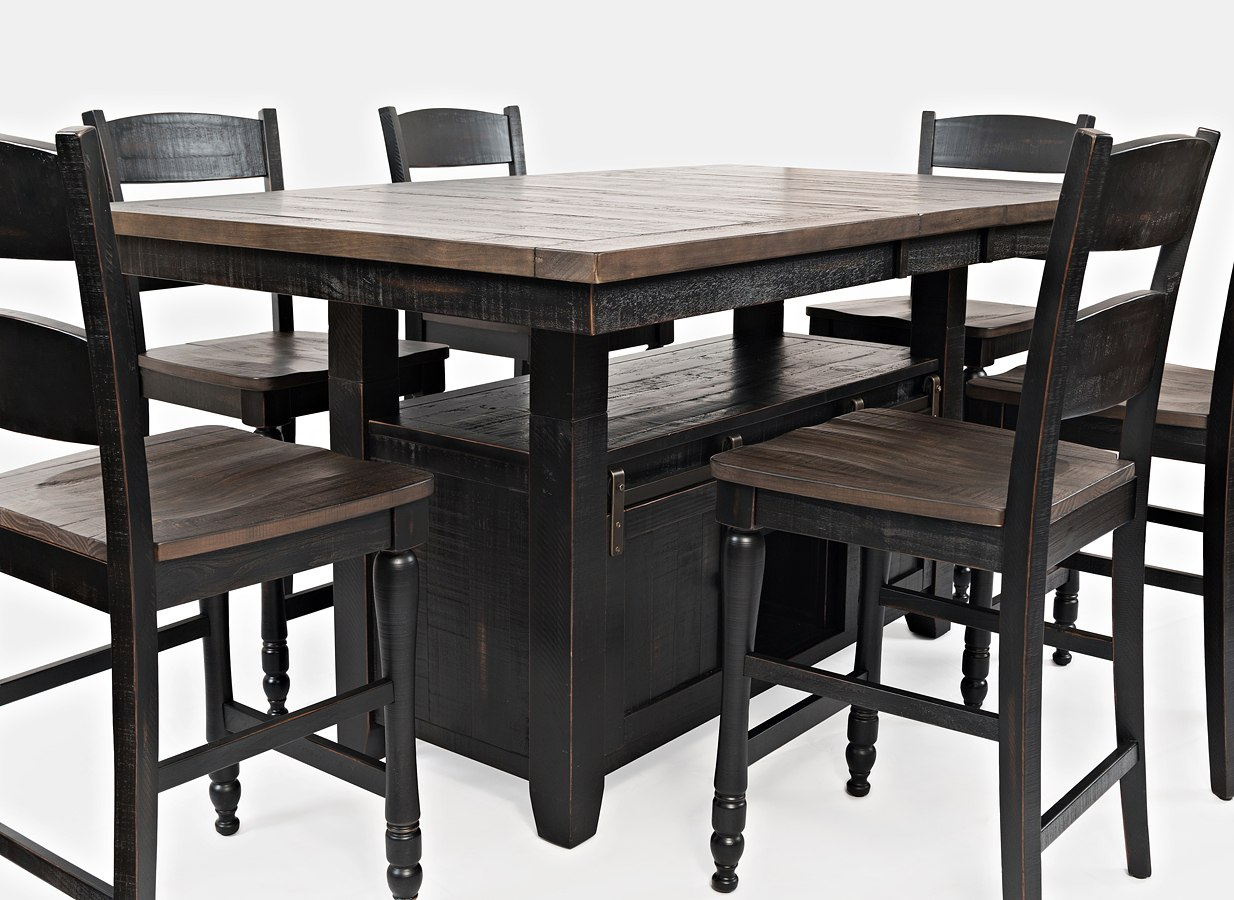 Madison County Adjustable Height Dining Table (Vintage