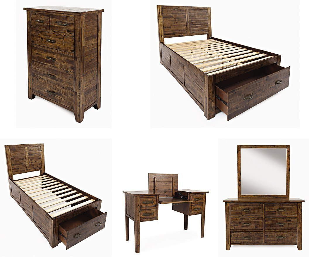 Sonoma creek youth storage bedroom set kids and youth - Youth bedroom furniture with storage ...