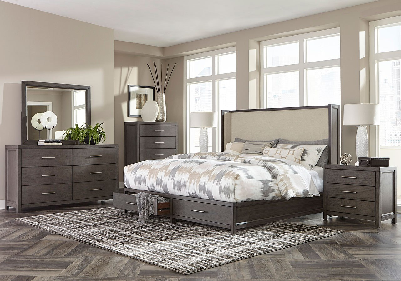 Fondren Storage Bedroom Set by Homelegance | FurniturePick