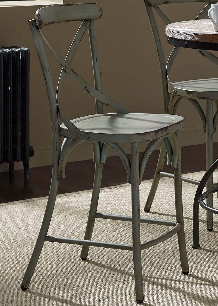 Vintage Pub Table Set W X Back Chairs By Liberty Furniture