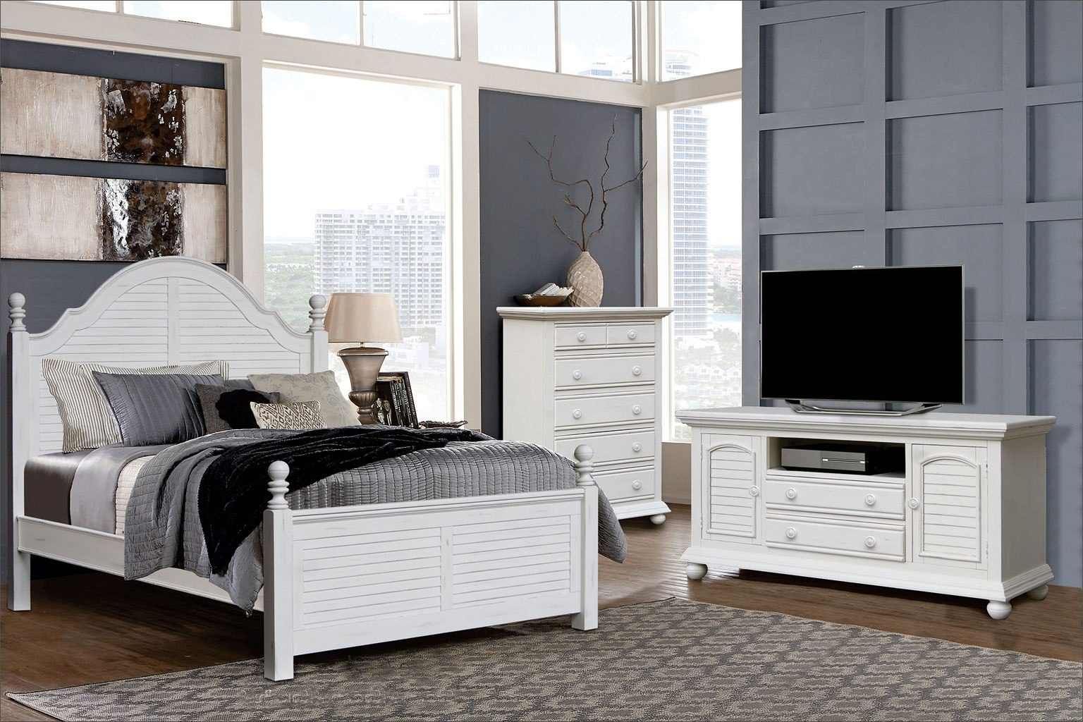 Cape Cod Shore Bedroom Set By Cottage Creek Furniture