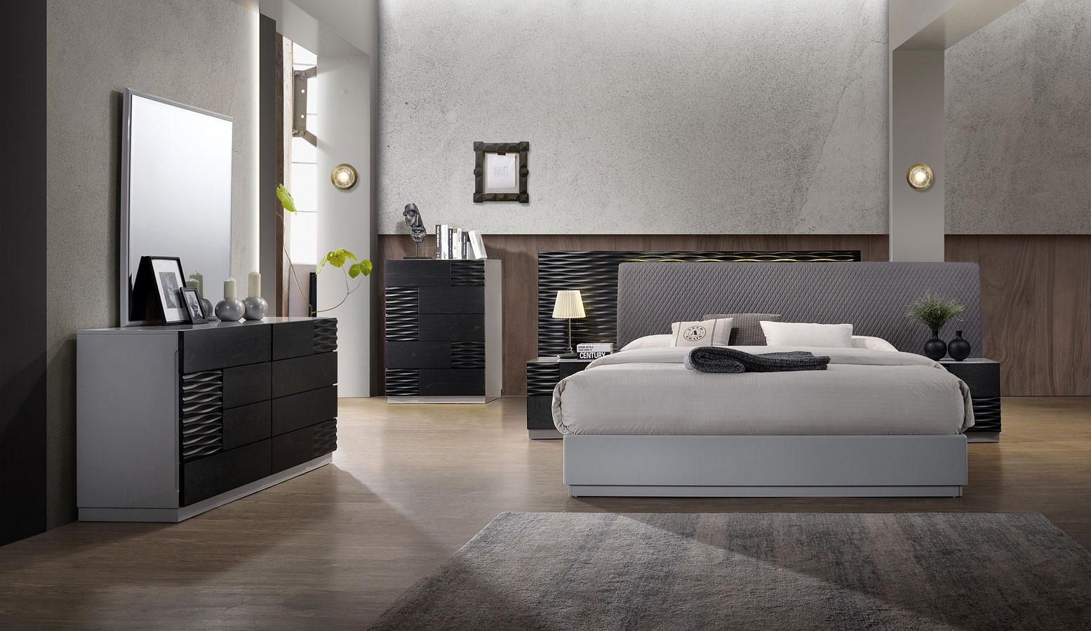 Tribeca Platform Bedroom Set by JM Furniture   FurniturePick