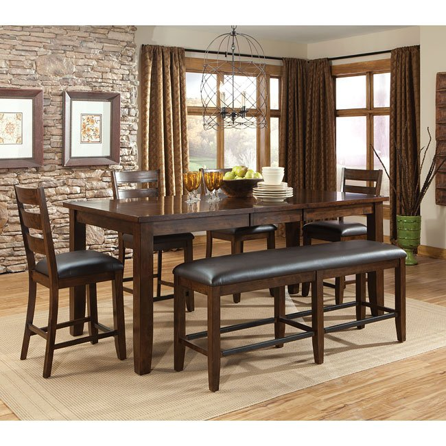 Abaco Counter Height Dining Room Set By Standard Furniture