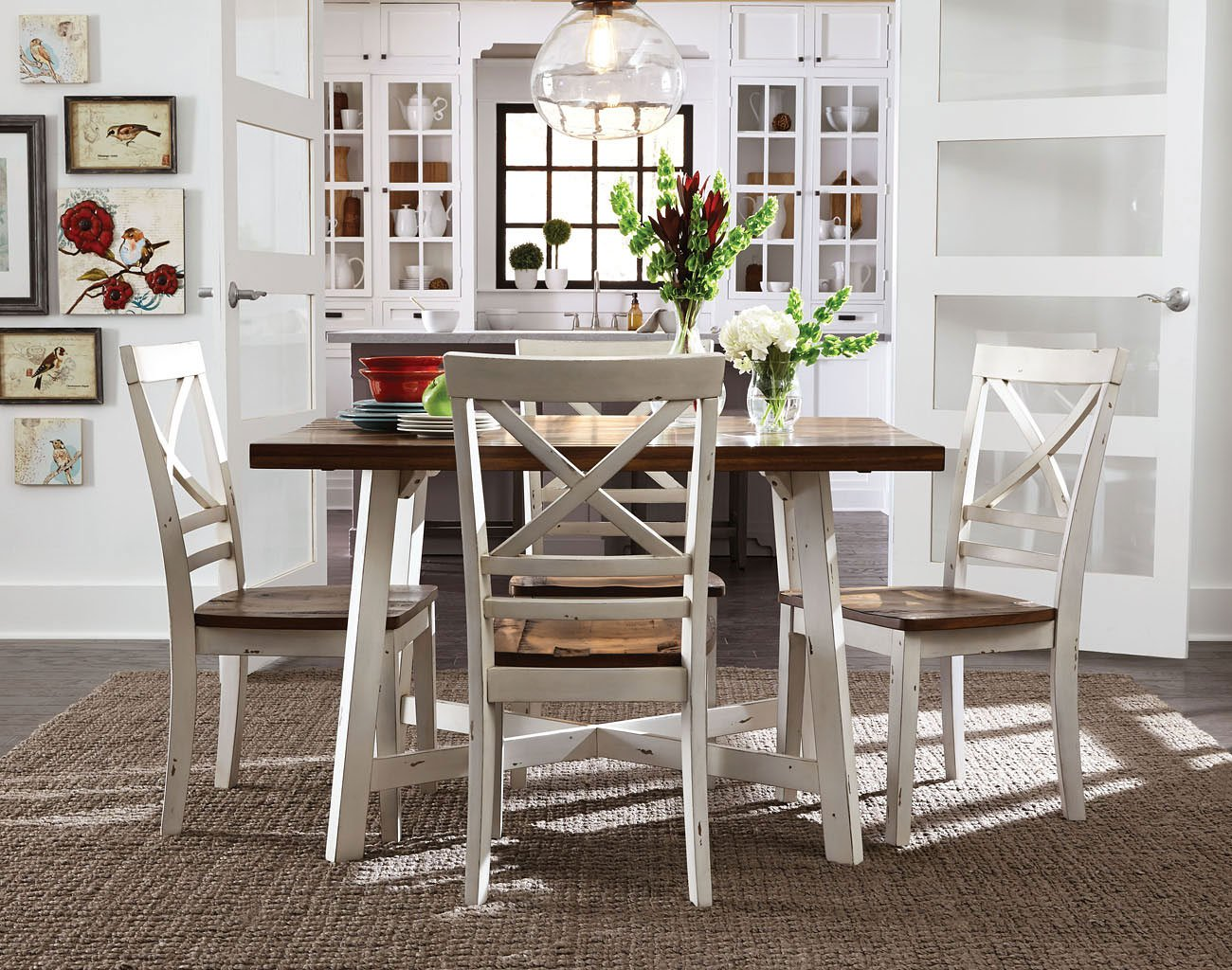 Amelia 5 piece dining room set